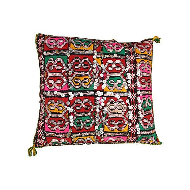 Colorful Diamond Moroccan Pillow Sham - Image 1 of 2