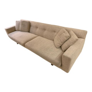 1950s Vintage Edward Wormley for Dunbar Oatmeal Sofa For Sale