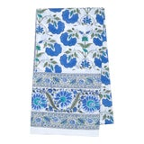 Image of Janvi Tablecloth, 8-seat table - Blue For Sale