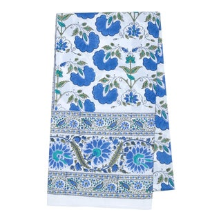 Janvi Tablecloth, 8-seat table - Blue For Sale