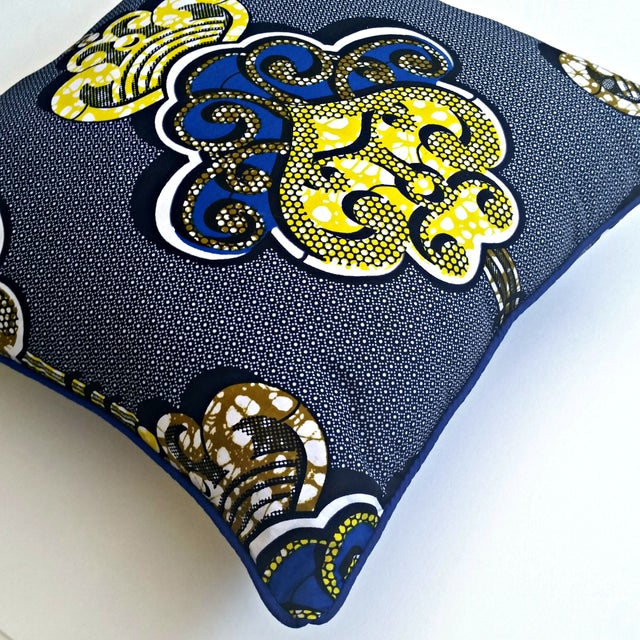 Sample Sale- Royalty African Print Pillows- a Pair - Image 4 of 4