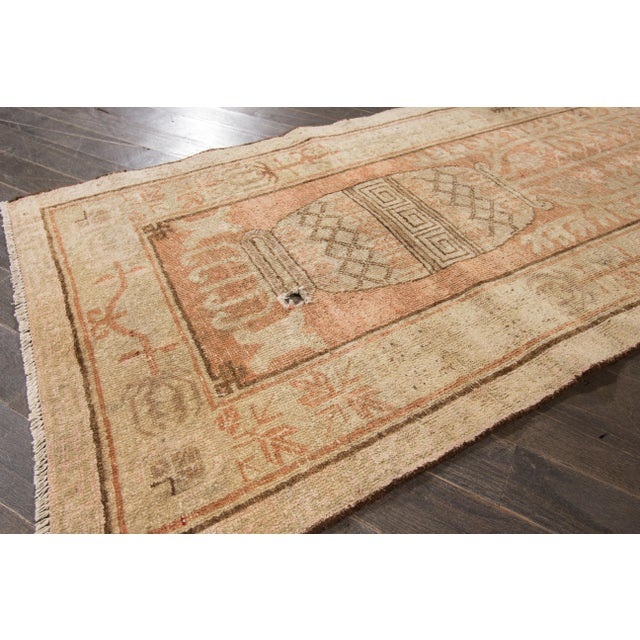 "Antique Khotan Runner- 2'8"" x 9'5"" - Image 5 of 7"