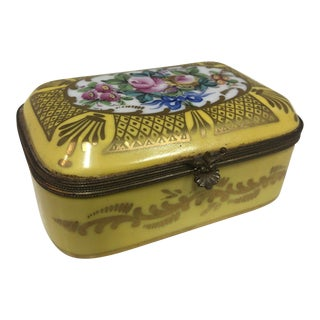 Mid 19th Century Hand Painted Box For Sale