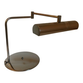Mid-Century Modern Chrome Desk Lamp For Sale
