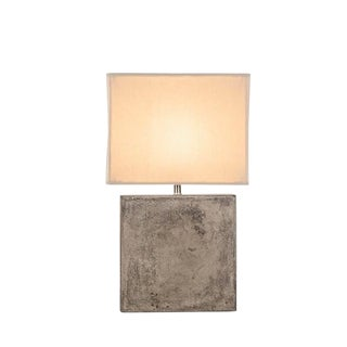 Nellcote Small Cube Lamp With White Shade