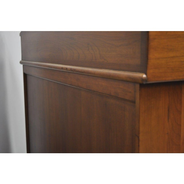 Pennsylvania House Solid Cherry Wood Colonial Drysink Dry Sink Cabinet Server For Sale In Philadelphia - Image 6 of 12