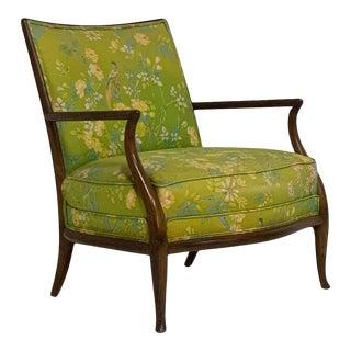 Robsjohn Gibbings for Widdicomb Model 2024 Lounge Chair W. Upholstery For Sale