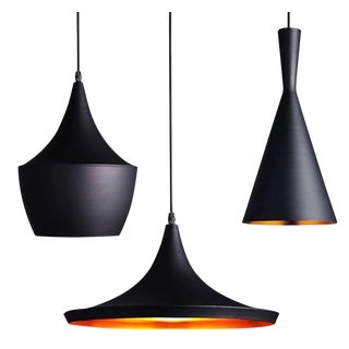 Tom Dixon Beat Pendant Lamps - Set of 3 For Sale
