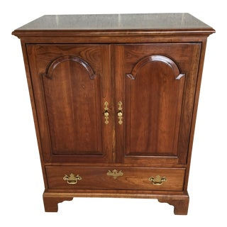 Stickley Cherry Valley Chippendale Style Armoire - Media Cabinet For Sale