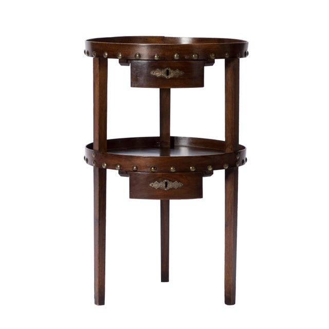 19th C. French Walnut Table - Image 2 of 6