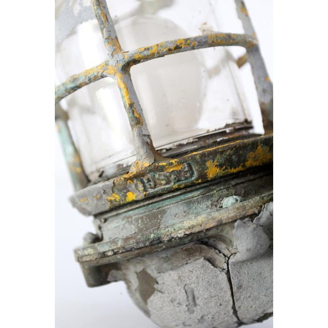 Vintage Boat Sconce For Sale - Image 6 of 7