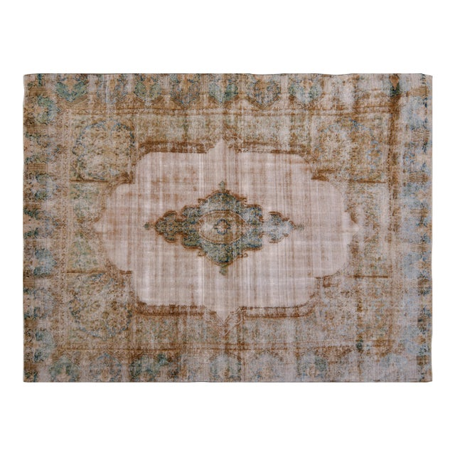Vintage Kerman Rug - 9' x 12′ For Sale