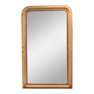 Gilt Louis Philippe Mirror From France For Sale