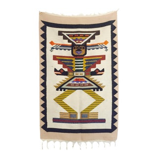 Vintage South American Wool Wall Hanging