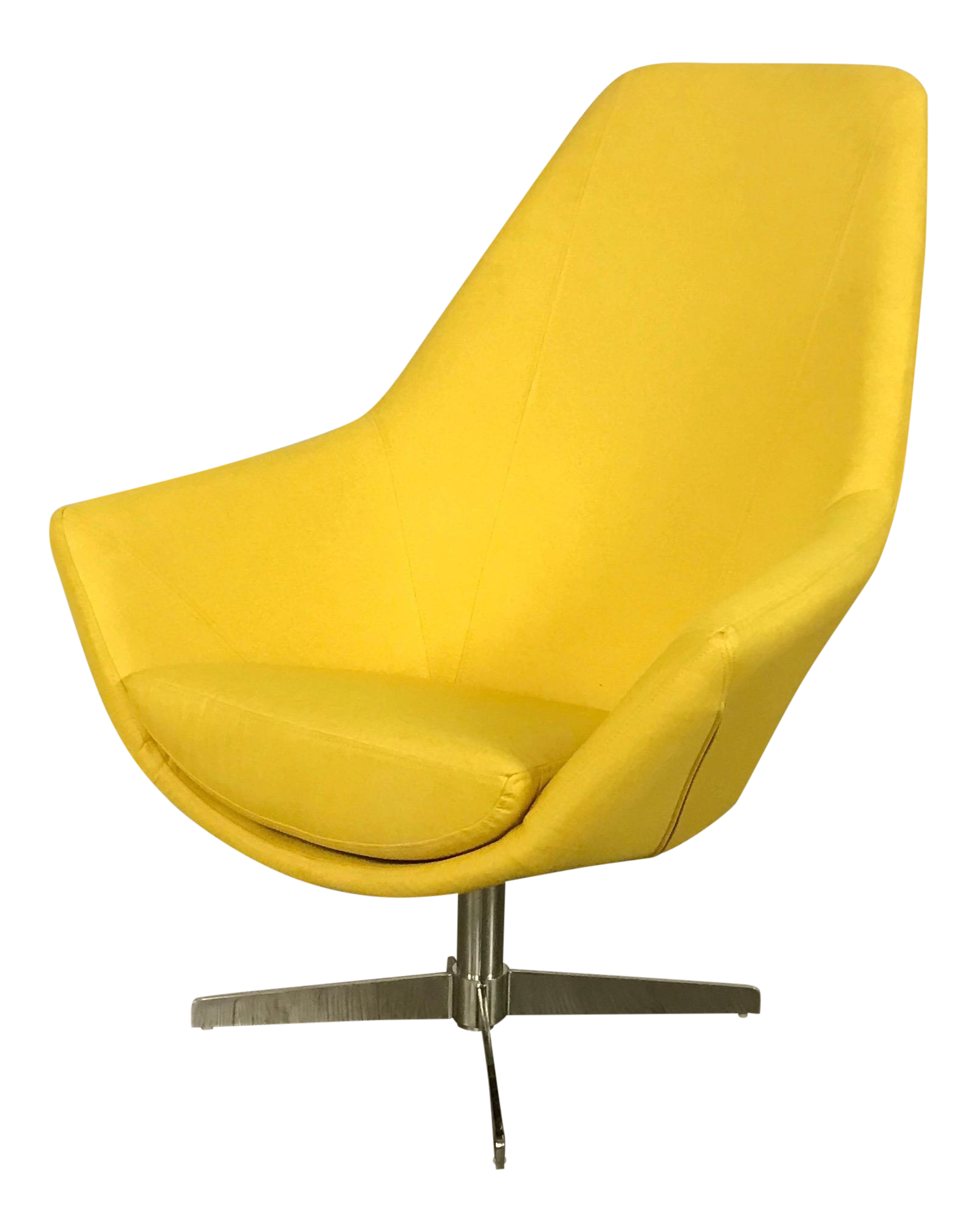 Modani Modern Yellow Lounge Chair