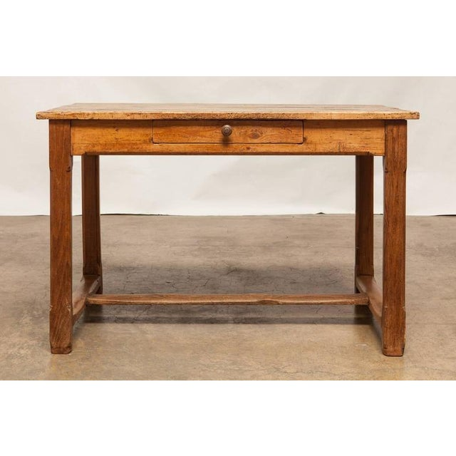 19th Century French Farmhouse Kitchen Table & Leaves - Image 3 of 10