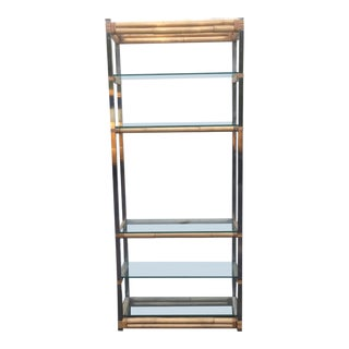 Boho Modern Bookcase Etagere For Sale