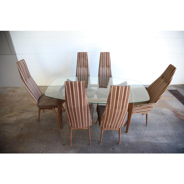 Adrian Pearsall Dining Set Table & Chairs - 7 Pieces For Sale - Image 13 of 13