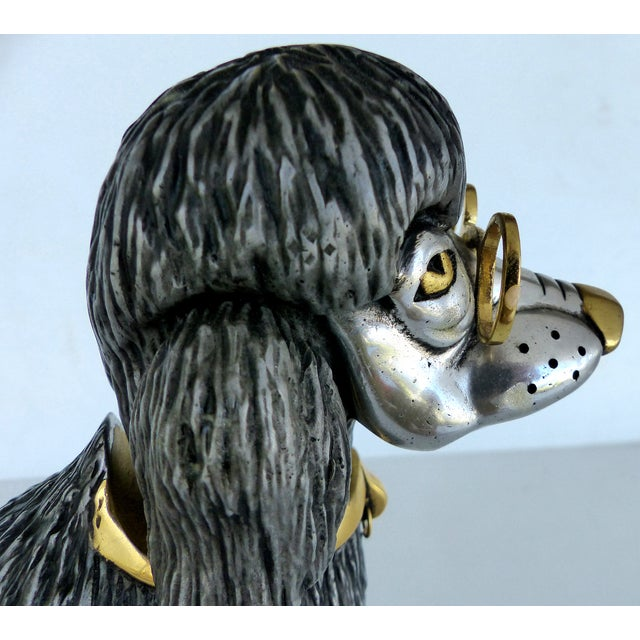 Articulated Poodle Sculpture - Image 6 of 11