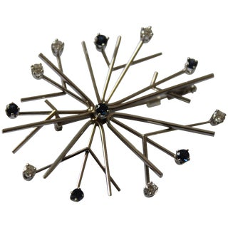 "Brooch ""Snowflake"" by Henning Koppel for Georg Jensen For Sale"