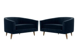Image of Craft Associates Club Chairs