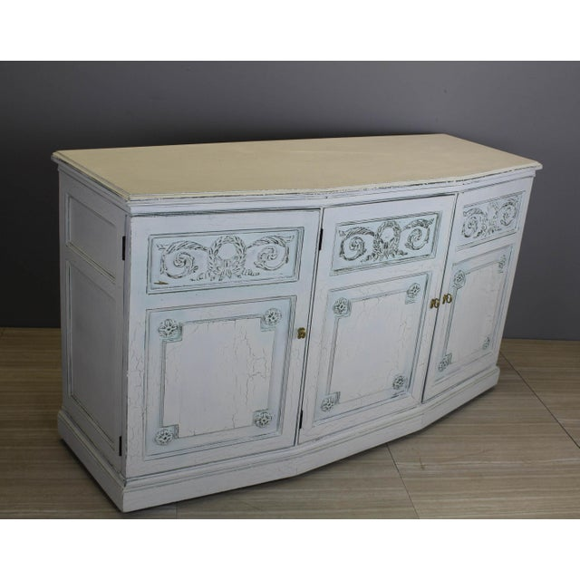 Henredon Mid-Century Neoclassical Style Cabinet For Sale - Image 9 of 11
