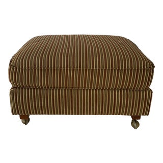 Bloomingdale's Upholstered Ottoman For Sale
