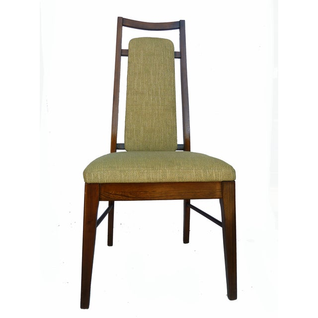 1960's Dining Room Chairs in Walnut - Set of 6 - Image 6 of 9
