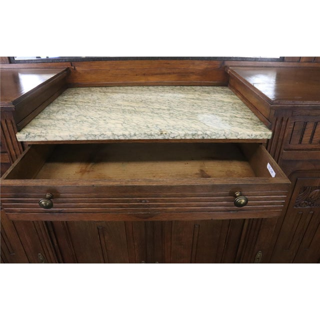 Item #: 18-24 Overall measurements (inches) 67.50H x 64.75W x 20.75D . Overall Condition is Used - Good. Speckling on...