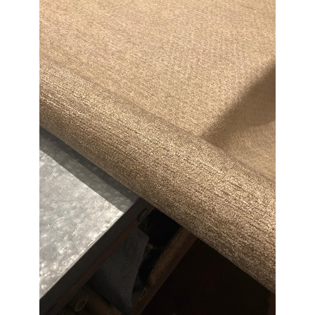 Robert Allen Robert Allen Design Arches Cashmere Gold Upholstery Fabric - 4 3/4 Yards For Sale - Image 4 of 5