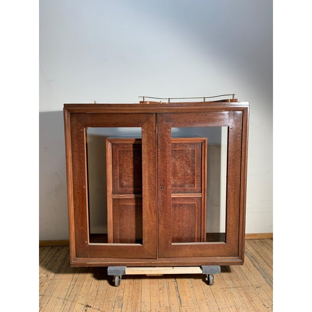 Wood Illuminated Eugenio Diez Sideboard Cabinet For Sale - Image 7 of 13
