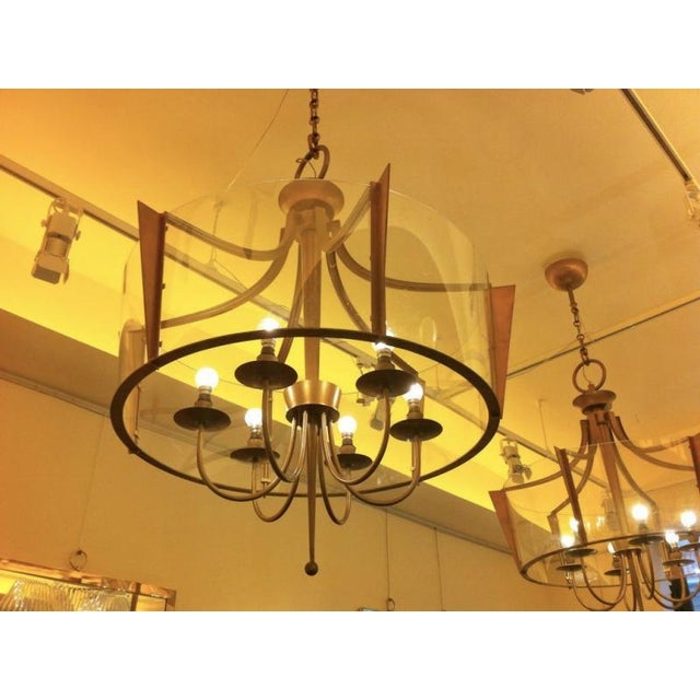 Raymond Subes Rare, Superb Neoclassic 1940s Chandelier For Sale - Image 6 of 7