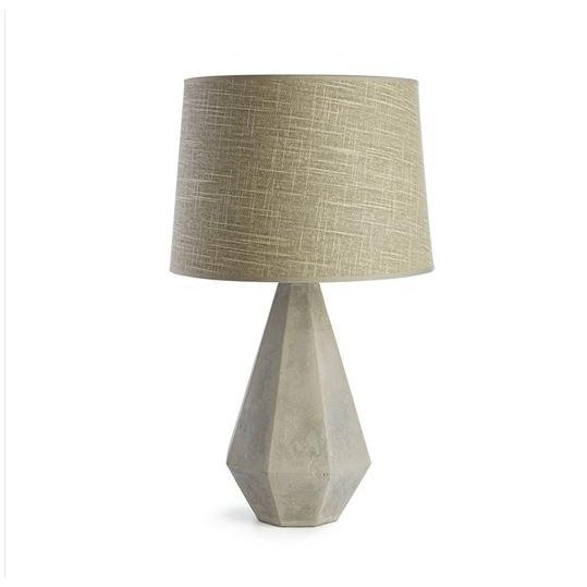 Farmhouse Kenneth Ludwig Chicago Rex Concrete Lamp For Sale - Image 3 of 3