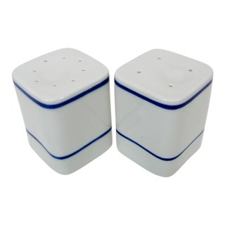 Portuguese Salt & Pepper Shakers, 2 Pieces For Sale