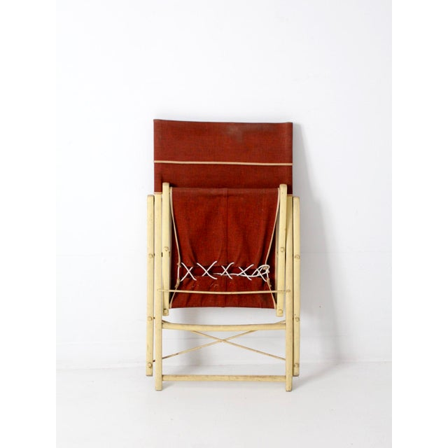 Mid 20th Century Mid-Century Folding Chair For Sale - Image 5 of 8