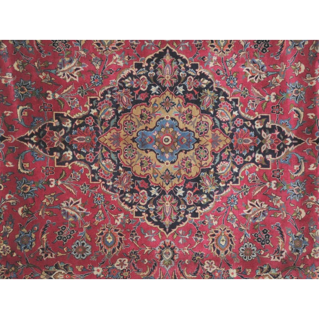 "Leon Banilivi Persian Mashad Carpet - 9'10"" X 13'2"" - Image 5 of 6"
