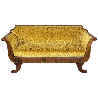 Biedermeier Sofa, circa 1860-1870 For Sale