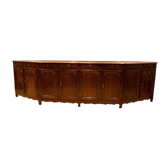 Italian Louis XV Style Elm Enfilade For Sale In San Francisco - Image 6 of 6
