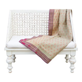 Tribal Bengal Kantha Throw For Sale