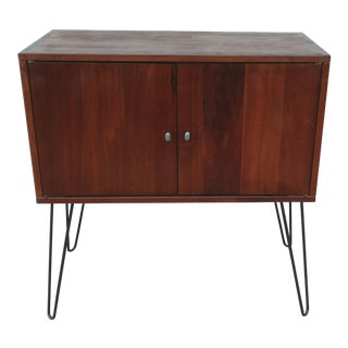 1960s Danish Modern Teak Cabinet For Sale