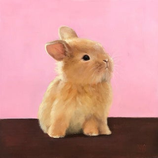 Bunny Original Oil Painting For Sale