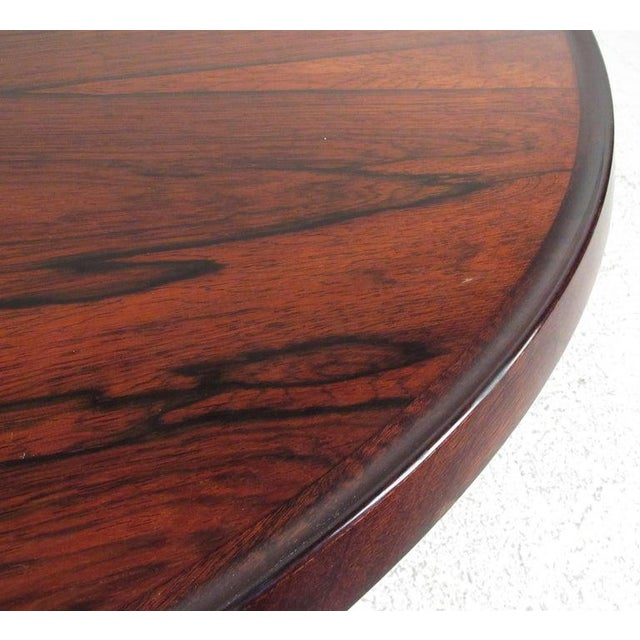 Wood Vintage Scandinavian Rosewood Coffee Table by Haug Snekkeri for Bruksbo For Sale - Image 7 of 13