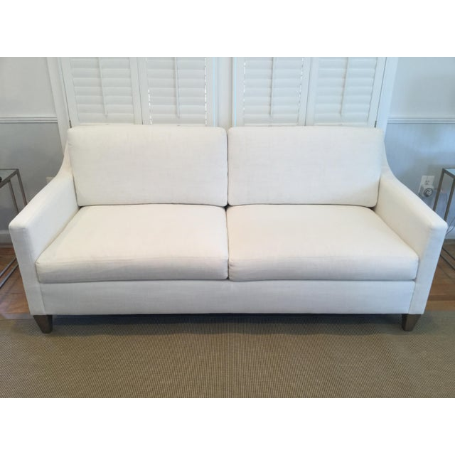 2010s Ethan Allen Monterey Sofa For Sale - Image 5 of 5