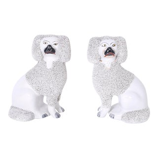 English Poodles or Dogs - A Pair For Sale