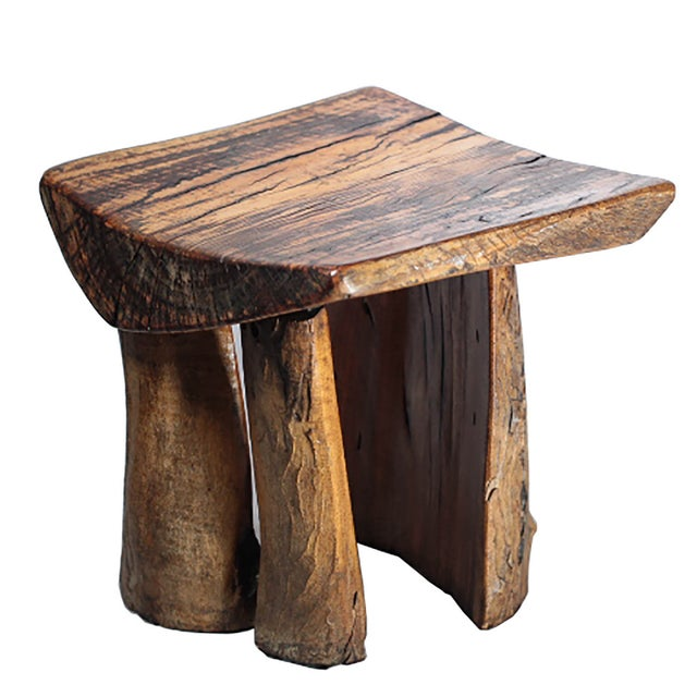 Rustic Tree Stump Stool - Image 3 of 6