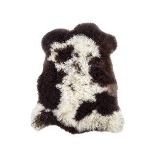 "Contemporary Natural Wool Sheepskin Pelt - 2'2""x3'0"" For Sale"