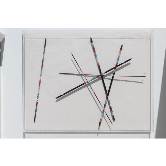 "Contemporary ""Paintbrushes"" Art For Sale In San Diego - Image 6 of 6"