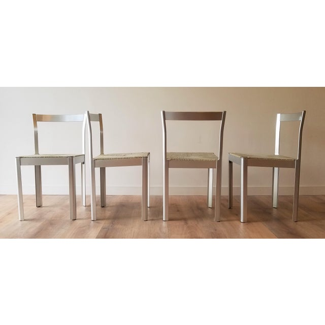 1980s Hank Loewestein Italian Dining Table & Chairs For Sale - Image 4 of 13