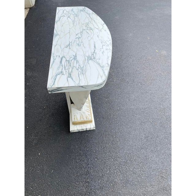 Grosfeld House Scallop Shell Console Table For Sale In Chicago - Image 6 of 13