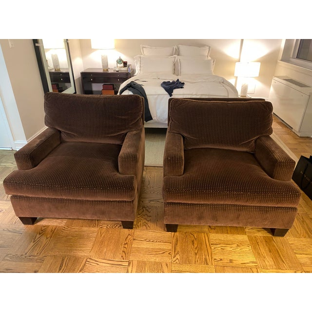 Barbara Barry Modern Lounge Chairs - A Pair For Sale In New York - Image 6 of 6